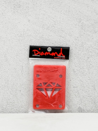 Podložky Diamond Supply Co. Rise & Shine Risers (red)