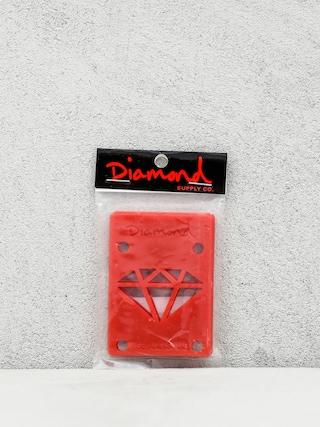 Podlou017eky Diamond Supply Co. Rise & Shine Risers (red)