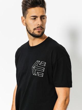 Tričko Etnies Linear Icon (black)