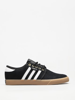 Topu00e1nky adidas Seeley (core black/ftwr white/gold met)