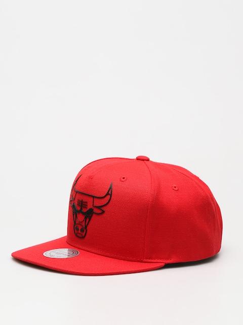 Šiltovka Mitchell & Ness Raised Perimeter Chicago Bulls ZD (red)
