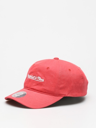 Šiltovka Mitchell & Ness Washed Cotton Dad ZD (coral)