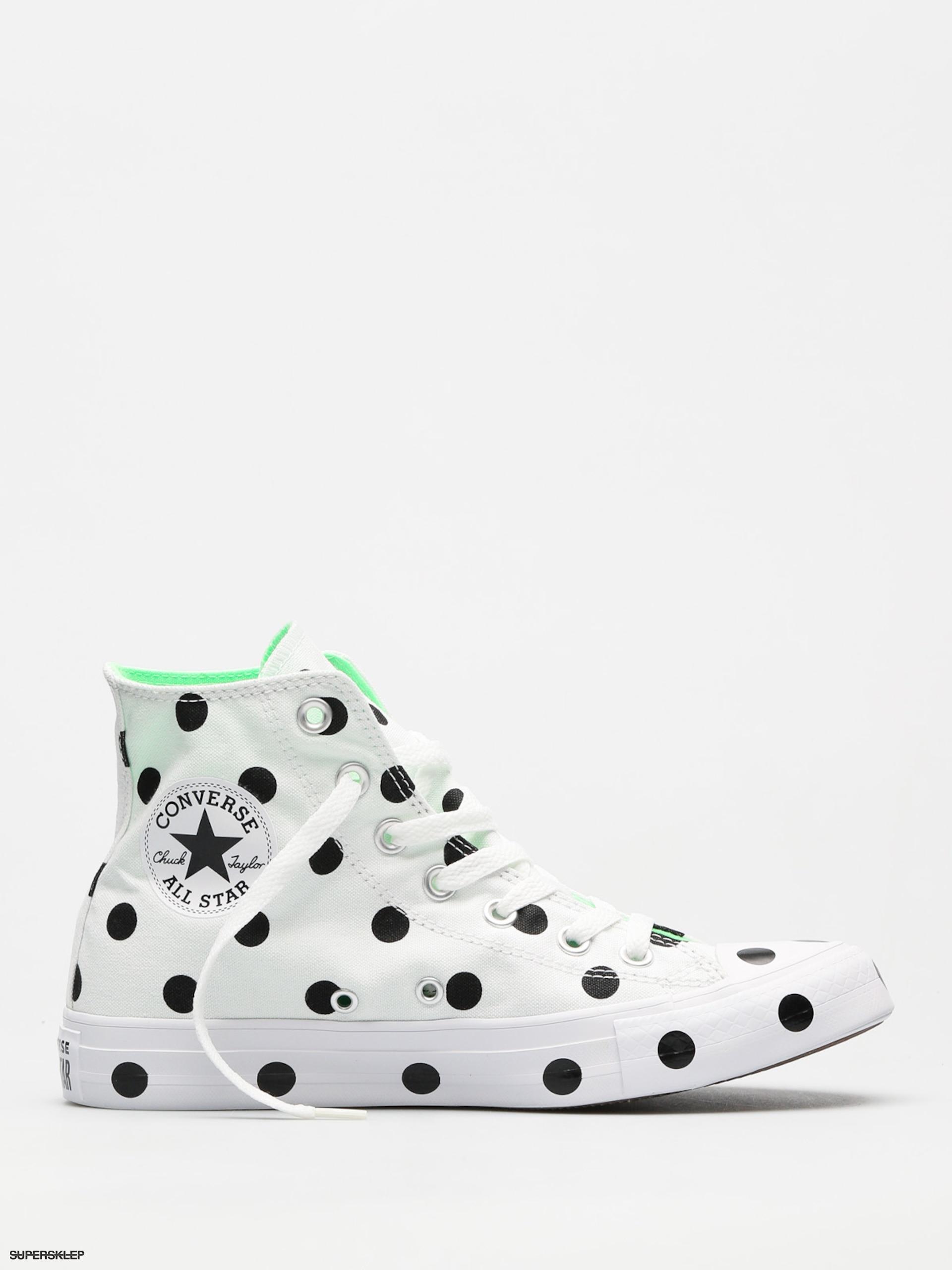 d20a83b477ae Tenisky Converse Chuck Taylor All Star Wmn (white black illusion green)