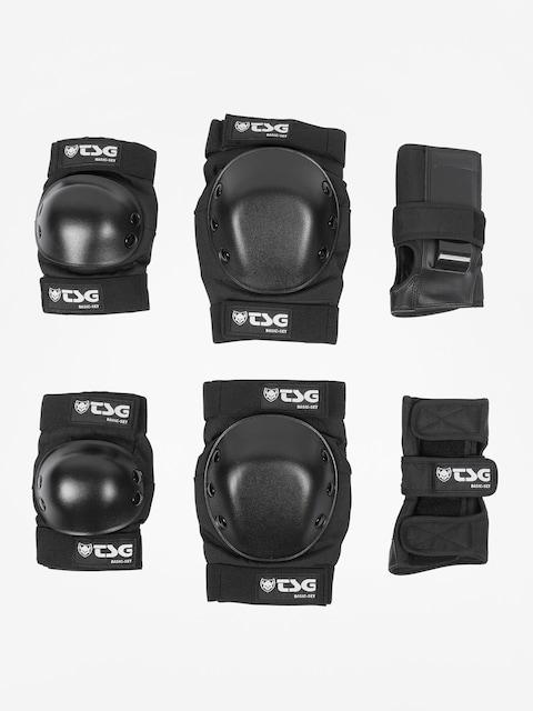 Chrániče TSG Basic Set (black)