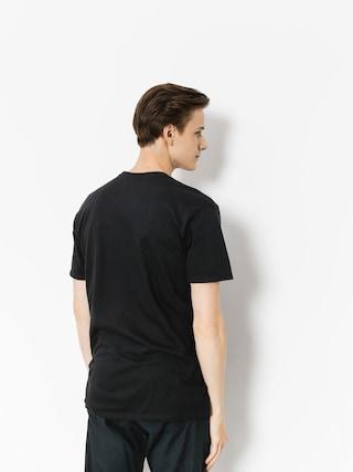 Tričko Etnies Sketch Outline (black)