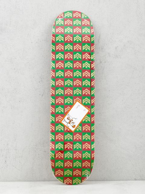 Doska Minilogo Chevron Gift Wrap (red/green)