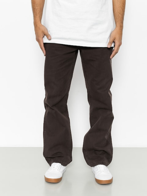 Nohavice Emerica Defy Chino (dark brown)