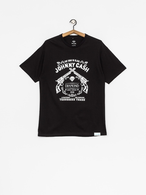 Tričko Diamond Supply Co. Tennessee Three (black)