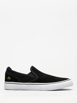 Topu00e1nky Emerica Wino G6 Slip On (black/white/gold)