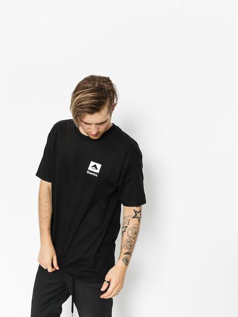 Tričko Emerica Brand Combo (black)