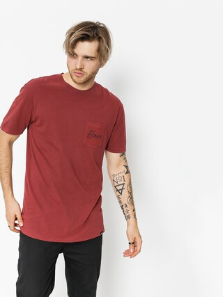 Tričko Etnies Bottlecap (burgundy)