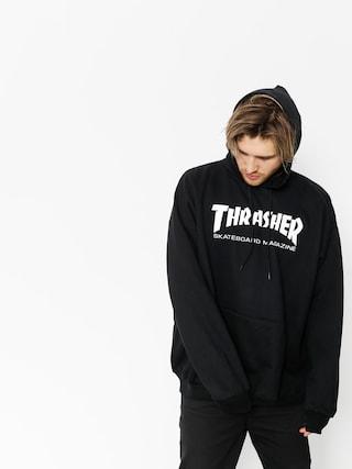 Mikina s kapucňou Thrasher Skate Mag HD (black)