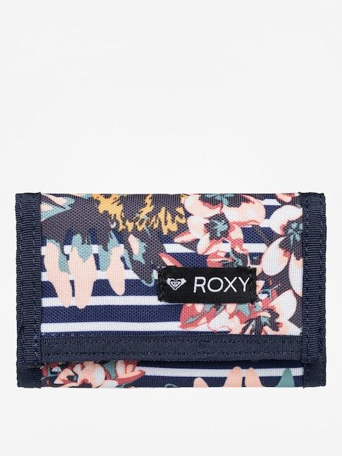 Peňaženka Roxy Small Beach 2 Wmn (medieval blue boardw)