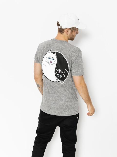 Tričko RipNDip Nermal Yang (ash grey)