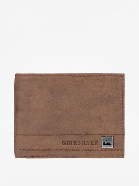 Peňaženka Quiksilver Stitchy Wallet 3 (chocolate)