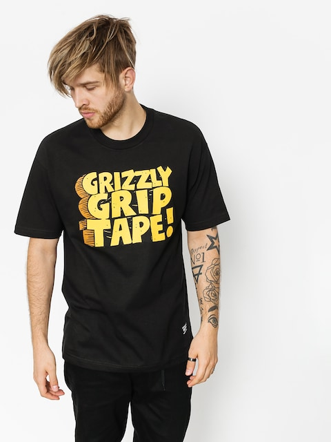 Tričko Grizzly Griptape Nostalgic (black)