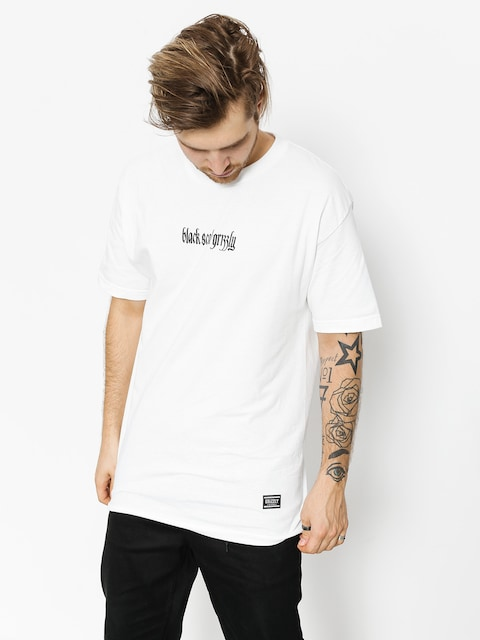 Tričko Grizzly Griptape Blvck Scale Grizzly Repeat (white)
