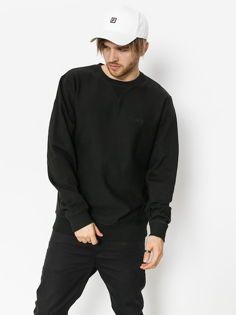 Mikina Stussy Stock Terry (black)
