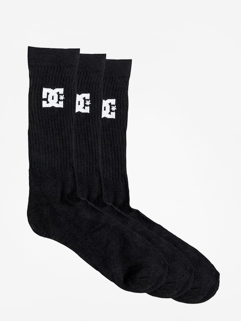 Ponožky DC Spp Dc Crew 3Pk (black)
