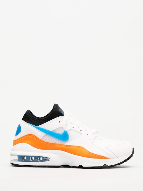 Topánky Nike Air Max 93 (white/blue nebula total orange black)