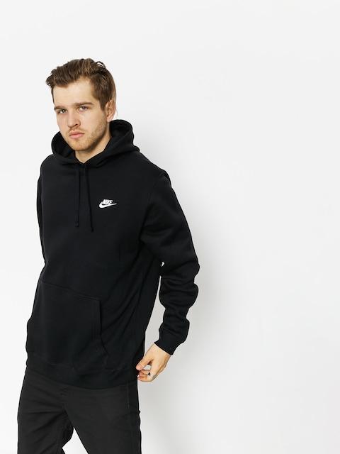 Mikina s kapucňou Nike Sportswear HD (black/black/white)