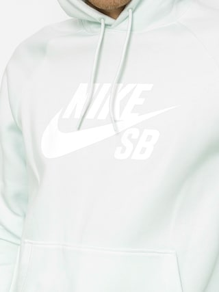 Mikina s kapucňou Nike SB Sb Icon HD (barely grey/white)