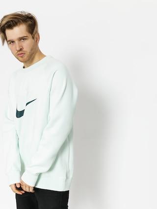 Mikina Nike SB Sb Top Icon Crw Gfx Hrtg (barely grey/deep jungle)