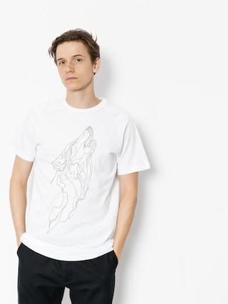 Tričko Majesty Wolf (white)