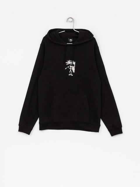 Mikina s kapucňou Stussy Tribeman HD (black)