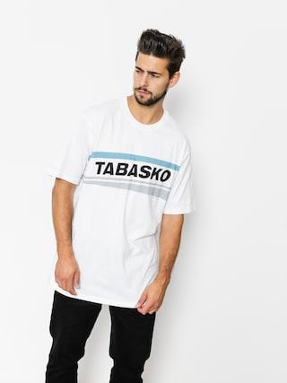 Tričko Tabasko Skew (white)