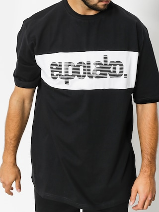 Tričko El Polako Alfabet (black)