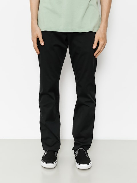Nohavice RVCA Weekend Stretch (black)