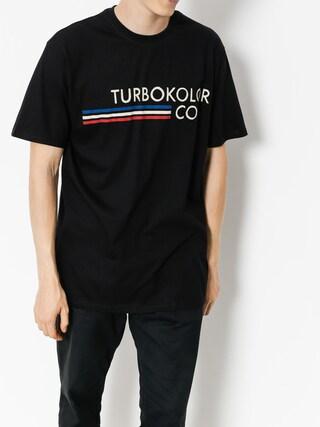 Tričko Turbokolor Olympik (black)