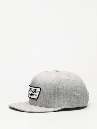 Šiltovka Vans Full Patch Snapback ZD (heather grey)