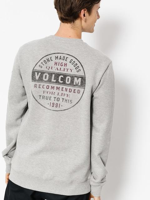 Mikina Volcom Supply Stone Crew (gry)