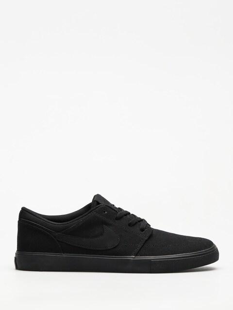 Topánky Nike SB Portmore II Solar Cnvs (black/black)