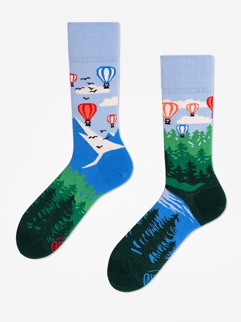 Ponožky Many Mornings Adventure Balloon (blue/green)