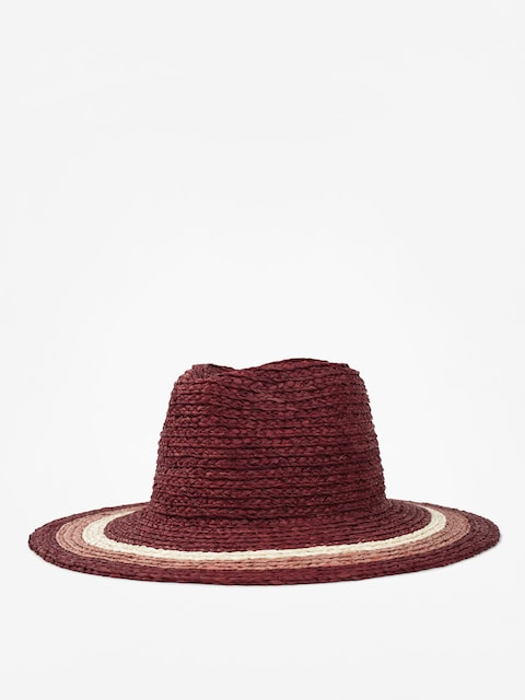 Klobúk Brixton Hampton Fedora Wmn (red/blush/tan)