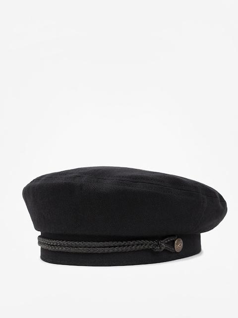 Klobúk so šiltom Brixton Beret Caroline ZD Wmn (black)