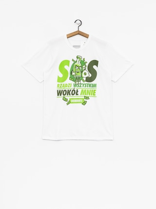 Tričko Diamante Wear SOS (white)
