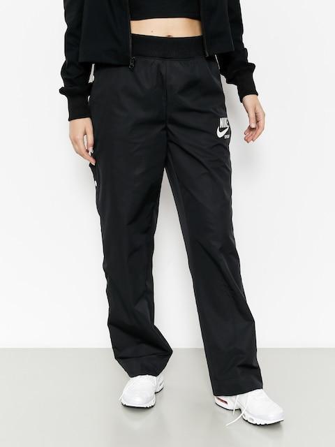 Nohavice Nike Pant Snap Archive Wmn (black/sail/sail)