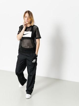 Tričko Nike Top Swsh Mesh Wmn (black/white)