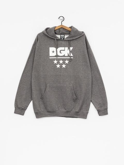 Mikina s kapucňou DGK All Star HD (gunmetal)