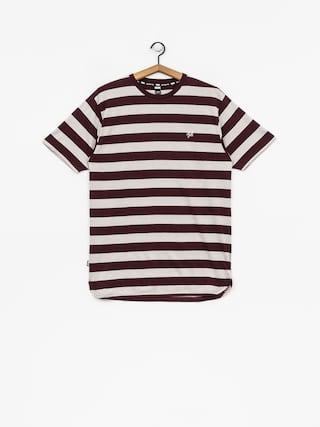 Tričko DGK Folsom Custom (burgundy)