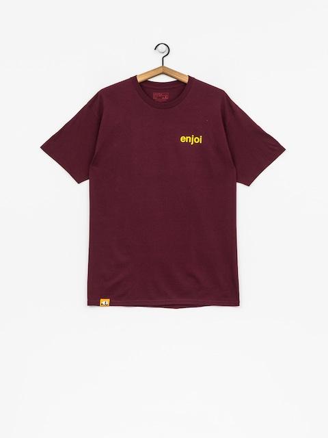 Tričko Enjoi Pussy Magnet (burgundy)