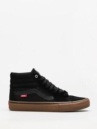 Topánky Vans Sk8 Hi Pro (black/gum)