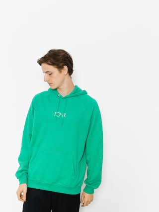 Mikina s kapucňou Polar Skate Default HD (green)