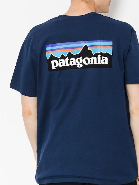 Tričko Patagonia Logo Responsibili
