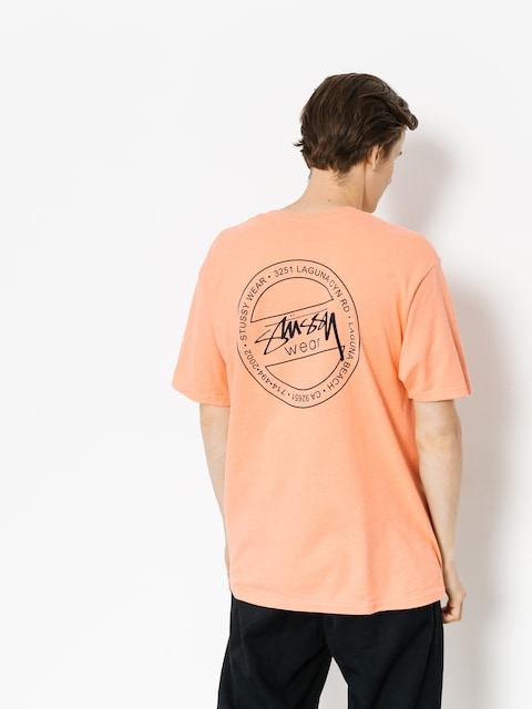 Tričko Stussy Laguna Dot (salmon)