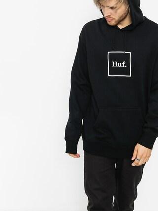 Mikina s kapucu0148ou HUF Box Logo HD (black)